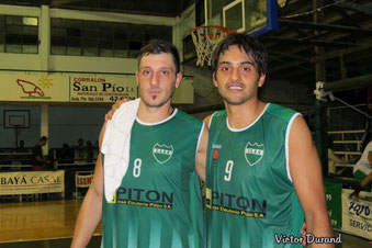 Ignacio Chale y Fabri Rebecchi