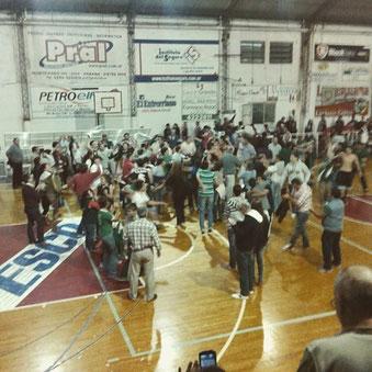 Final del partido - Foto A. Toniutti