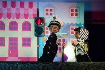 Puppentheater: Pressestelle der PolizeinGelsenkirchen