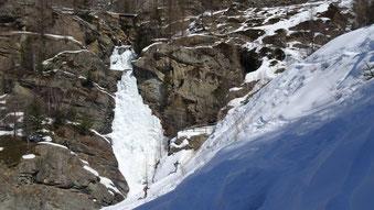 Le cascate di Lillaz