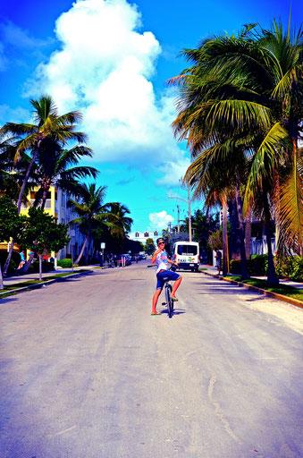 Fahrradtour Key West Florida USA