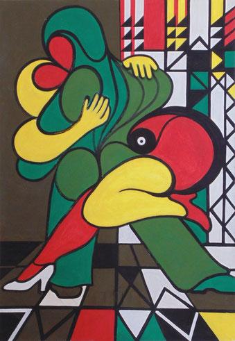 """Ausstellung """"Tango"""" im Jahr 2016 bei Kunst40"""