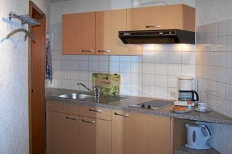 Küche mit vielen Extras