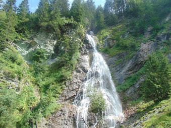 Kreealm Wasserfall im Großarltal