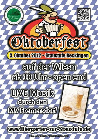 03.10.2012 - Oktoberfest - Staustufe Beckingen