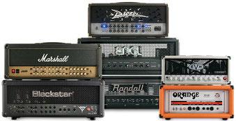 Marshall Diezel Blackstar Orange EVH ENGL Randall : hig gain amp modernes