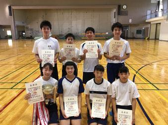 石川県中学校体操競技大会があり...