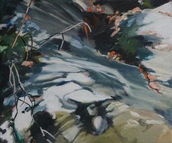 Fragment 2017 50 x 60 cm Öl / Leinwand