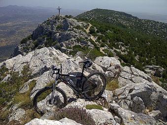 excursion VTT en Sardaigne, Supramonte, la Valle del Cedrino