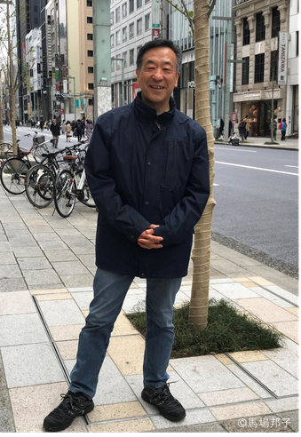 2019年3月銀座にて 馬場邦子撮影