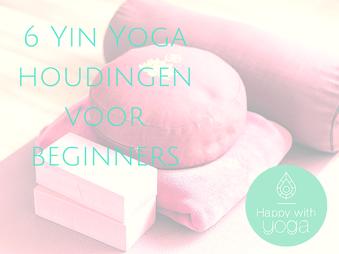 yin yoga props happy with yoga logo