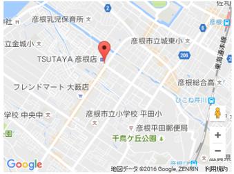 近江牛焼肉MAWARI アクセスマップ