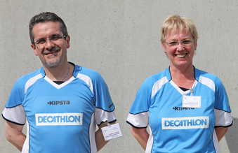 Dynamisches Duo - Die Landesjugendwarte Andreas Nikiel und Birgit Nessler