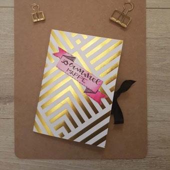 Bastle aus Briefumschlägen ganz einfach eine Sammelmappe für deine Letterings oder sonstigen Kleinigkeiten - eine DIY Anleitung