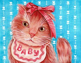 流川かずえ「BABY cat」アクリル