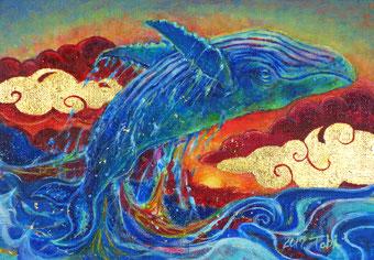 トビオキ「飛鯨」アクリル