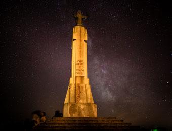 madone du Guisay nuit des étoiles voie lactée