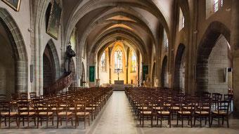 Eglise Puy en Velay Intérieur
