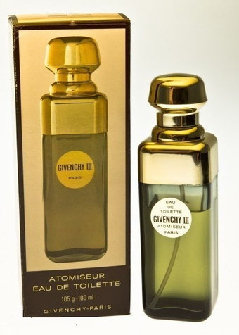 GIVENCHY III  - ATOMISEUR EAU DE TOILETTE 100 ML