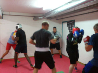 Light-Contact Boxing Training, Sept. 2017 @ M's-Gym Bern Ittigen
