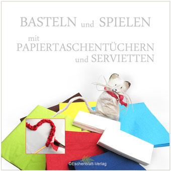 Servietten, Papiertaschentücher, neue Bastelideen