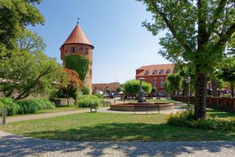Lübz in Mecklenburg