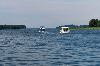 Südende des Schweriner Sees