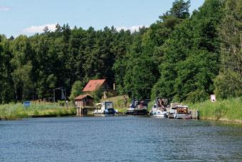 Mecklenburg Schleuse Zaaren