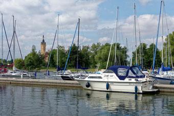 Anleger am Segelsportverein Schwerin