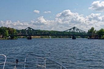 Glienicker Brücke am Tiefen See