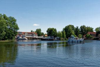 Zehdenick Stadthafen