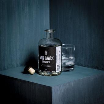 Van Laack Cologne Dry Gin 42, Produktfotografie, Bonn, Fotograf