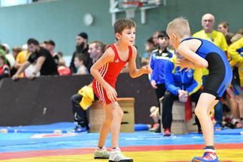 Jakob Walder (Rot) lieferte mit dem 3. Platz abermals eine Talentprobe ab
