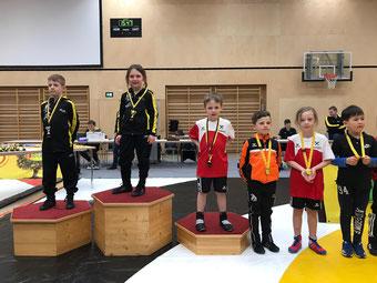 3. und 5. Platz für Maximilian und Julia Klieber