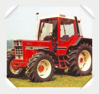 IHC 856 Traktor
