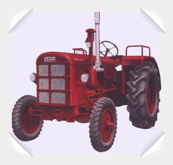 Fahr Oldtimer Traktor