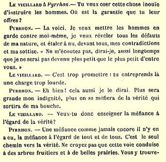"""""""Frédéric Nietsche le dernier métaphysicien"""", in Revue bleue 1891."""