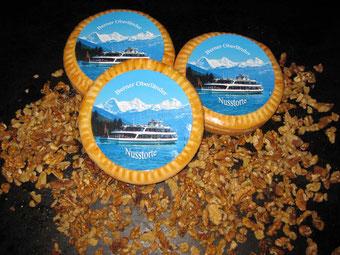 Berner Oberländer Nusstorte der Bäckerei & Konditorei Spicher Gunten