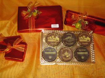 Thunersee Gruss der Bäckerei & Konditorei Spicher Gunten