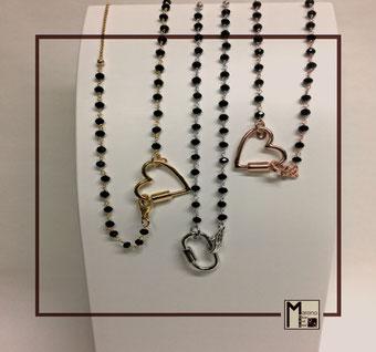 Collane rosario Padlock