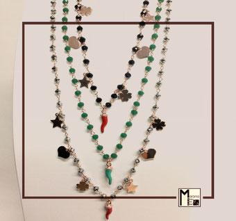 Collane rosario portafortuna