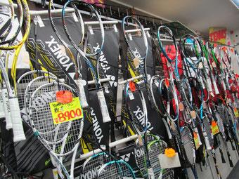 テニス・ソフトテニス・バドミントンラケット