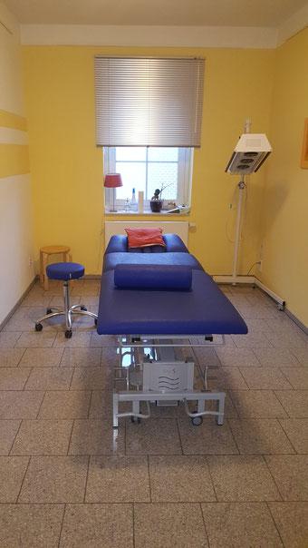 Behandlungsraum mit Heißluft