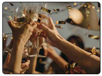 celebrando una despedida en Huelva