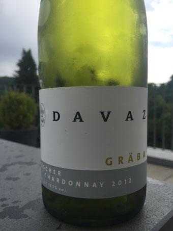 Davaz, Chardonnay, Gräbe, 2012