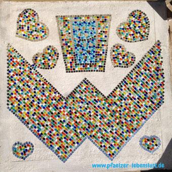 Mosaik Boden selber machen