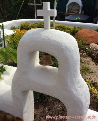 Glockenturm Griechenland griechisch Kreuz Garten