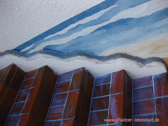 Treppe griechisch Meer kreativ