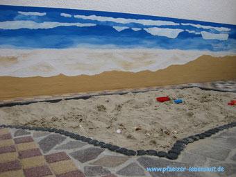 Sandkasten, Strand + Meer