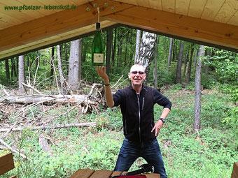Schutzhütte im Pfälzer Wald